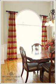 Curved Window Curtain Rods For Arch 10 Best Dining Room Images On Pinterest Furniture Accent