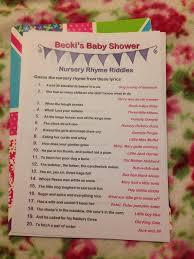 nursery rhyme riddles game babyshower bivens baby stuff 2 0