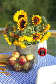 219 best i c beauty sunflowers images on pinterest sunflowers fall sunflower and apple tablescape