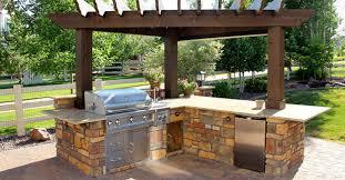 prefab outdoor kitchen laminate teak wood flooring beige stained