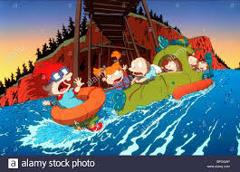 rugrats chuckie angelica tommy dil lil rugrats the movie 1998 stock photo
