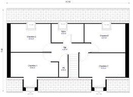 plan maison 4 chambres etage madame ki newsindo co