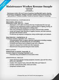 general maintenance worker cover letter
