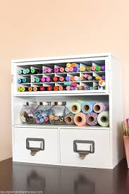 space organizers craft organizers creative thrifty small space craft room