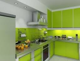 Modern Green Kitchen Cabinets Spacious Green Modern Kitchen Design 20 Top Spacious And Modern