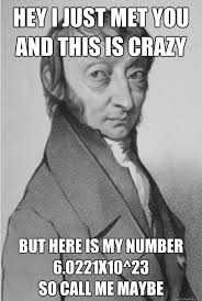 Math Nerd Meme - happy mole day now what exactly is mole day science jokes