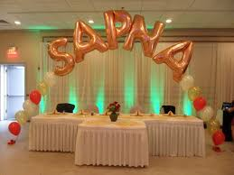 Wall Decoration With Balloons by Catalog Party Decorations By Teresa