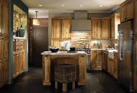 Wood Kitchen Cabinets by Dark Brown Kitchen Cabinets With Granite