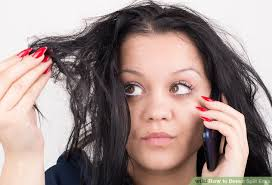 hairstyle thin frizzy dead ends short medium length help quick and easy how to detect split ends 10 steps with pictures wikihow