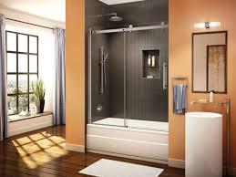 Glass Door For Shower Stall Home Depot Glass Sliding Door Islademargarita Info