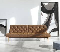 Chesterfield Leather Sofa Bed Oldschool Vintage Leather Chesterfield Sofa Bed Zin Home