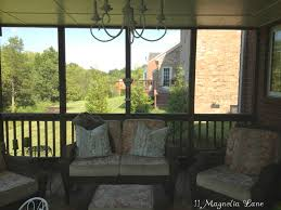 Outdoor Sheer Curtains For Patio Inexpensive Sheer Curtains Add Privacy To Screened Porch 11