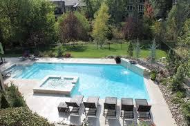 Modern Home Design Kansas City Swimming Pool And Spa Design Swimming Pools Modern Pool Kansas