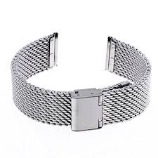 steel bracelet strap images Ritche 20mm mesh stainless steel bracelet wrist watch band strap jpg