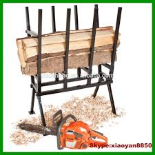 heavy adjustable chainsaw log cutting stand max load heavy duty