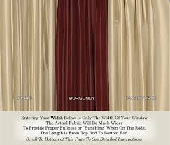 100 Curtains Door Curtains And French Door Curtains Custom Made In Any Size