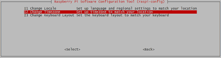 time zone layout raspberry pi configuration tool raspi config page 7 lowe family