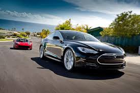 all the cars tesla s all electric luxury model s set for delivery