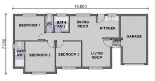 3 bedroom house plans 3 bedroom house plans in south africa functionalities net