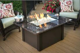 Custom Gas Fire Pits - gas fireplace table outdoor warm your outdoor conversation area