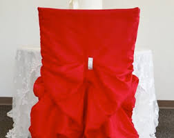 fancy chair covers bustle chair cover etsy