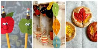 Food Decoration Images 45 Fall Crafts For Kids Fall Activities And Project Ideas For Kids