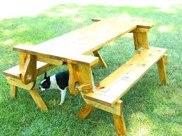 folding table with bench kids foldable picnic table folding picnic table with benches folding