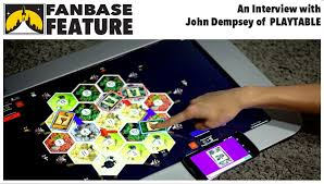 play table board game console fanbase press fanbase feature an interview with playtable s john