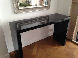 Mirror Sofa Table by Furniture Skinny Console Table Half Moon Tables Sofa Table