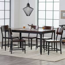 wood and metal dining table sets belham living trenton wood and metal dining chairs set of 2