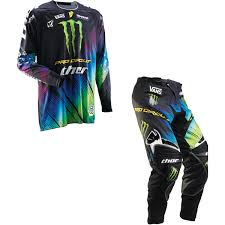 monster motocross helmets thor core off road mx gear set combo pro circuit monster energy