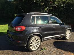 volkswagen tiguan black vw tiguan r line panoramic sunroof black in colyton devon