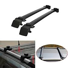 jeep grand cross rails amazon com auxmart roof rack cross bars for 2011 2016 jeep