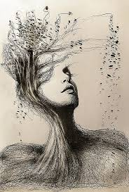 i personify mother nature in my pencil drawings pencil portrait