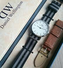 Jam Tangan Daniel Wellington Dan Harga jual jam tangan dw set daniel wellington nato black grey jam