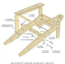 chair woodwork city free woodworking build rocking diy small