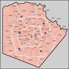 Tx Zip Code Map by Sub Market Analysis Kpsd