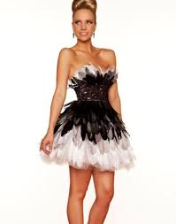 feathers for prom