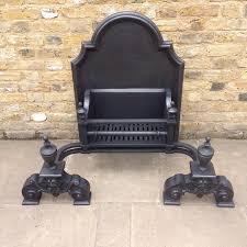 a large reclaimed cast iron fire basket salvoweb com