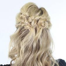 partial updos for medium length hair our favorite prom hairstyles for medium length hair more com