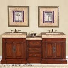 double sink bathroom vanity ideas rectangle frameless wall mirror