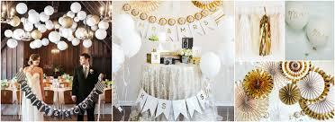 mariage et blanc mariage blanc et or pour apporter à la tradition une touche rock