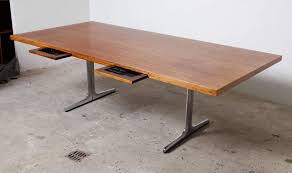 executive midcentury modern office or architect desk