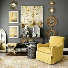 yellow livingroom homey idea yellow living room furniture gray and grey leather for