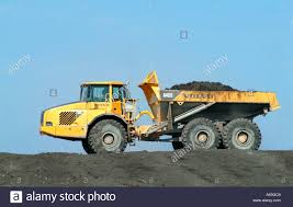 Large Dump Truck Earth Moving Construction Vehicle Trucks Volvo
