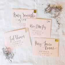 Calligraphy Wedding Invitations Wedding Invitations Calligraphy Southern New England Weddings