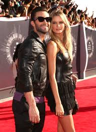 here u0027s adam levine serenading behati prinsloo for their