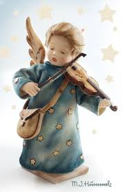 hummel celestial musician by r wright at the shoppe
