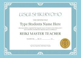 microsoft office certificate templates free reiki certificate templates done for you reiki training store reiki certificate template set 1