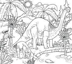 dinosaur coloring pages pics adults dinosaur